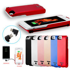 5000mAh External Power Bank Backup Battery Charger Cover Case For Iphone 6/6s/7