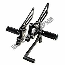 CNC Adjusable Rearsets Foot Pegs Rests for DUCATI 748 916 996 998 All Year
