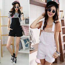 New Korean Casual Women Girls Denim Shorts Pants Jeans Jumpsuits Rompers Overall