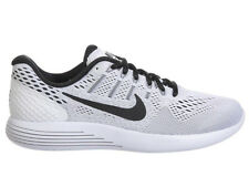 NEW WOMENS NIKE LUNARGLIDE 8 RUNNING SHOES TRAINERS WHITE / BLACK