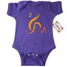 Inktastic Music Treble Clef Musical Infant Creeper Notes Choir Marching Band Hws