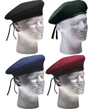 Military US Army Pre-Shaved Inspection Ready No Flash Wool Beret