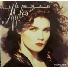 "ALANNAH MYLES Love Is 12"" VINYL UK Atlantic 1989 3 Track B/W Rock This Joint"