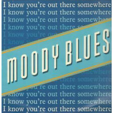 """MOODY BLUES I Know You're Out There Somewhere 12"""" VINYL UK Threshold 1988 3"""