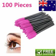 50/100x Disposable Eyelash Brush Mascara Wands Extension Applicator Spoolers SU