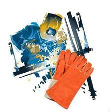 Cowhide Electric Welding Gloves Heat Gear Gloves for Protecting Hand L/XL