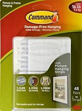 Command Picture & Frame Hanging Strips, Large (36 Pair)
