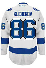Nikita Kucherov Tampa Bay Lightning NHL Away Reebok Premier Hockey Jersey