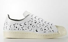 adidas Originals Women SUPERSTAR 80S CUT-OUT SHOES White/Cream-Size US 8,9 Or 10