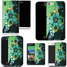 motif case cover for many Mobile phones - green corsage
