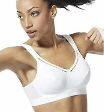 Shock Absorber N102 White Active Classic Support Sports Bra B-C Cup Box6071