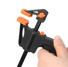 4/6/8/10/12 Inch DIY Wood Working Bar F Clamp Grip Ratchet Release Squeeze Hand