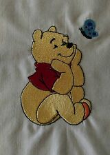 WHINNIE the POOH & Friends Machine Embroidered Quilt Blocks-4 Beautiful Pictures