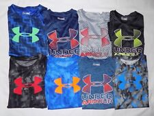 NWT UNDER ARMOUR BOYS KIDS' HEAT GEAR GRAPHIC T-SHIRTS SIZE: 4T, 5, 6 & 7
