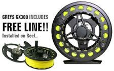 GREYS GX300 Fly Reel for Fly Fishing with a FREE FLY LINE
