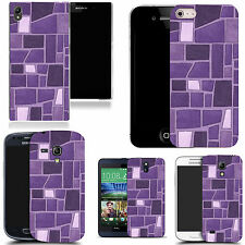 hard durable case cover for iphone & other mobile phones - breeze block wall