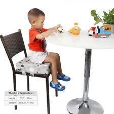 Portable Kids Dining Chair Highchair Booster Soft Cushion Pad Baby Seat Booster