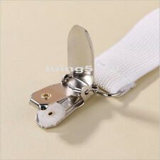 4Pcs Fitted Bed Mattress Sheet Clips Grippers Straps Suspender Fasteners Holder