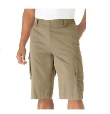 """NWT MEN PLUS SIZE BIG AND TALL 14"""" LONG CARGO SHORTS %100 COTTON SIZE 44-68"""