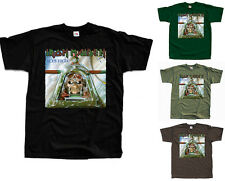 IRON MAIDEN Aces High ver. 1 T-Shirt (Black, bottle green, olive, brown) S-5XL