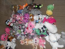 """LARGE VARIETY OF TY BEANIE BOOS 6"""" AND 9"""" WITH DAMAGED HEART TAGS OR MISSING TAG"""