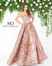 Mac Duggal 66222D Long Evening Dress ~LOWEST PRICE GUARANTEE~ NEW Authentic Gown