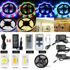 5M SMD RGB 5050/3528/5630 300LEDs Cool/Warm White Waterproof LED Strip Light