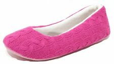 Girl Women's House Shoes pink Slippers Knit slippers Push Slippers