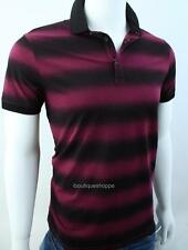 Armani Exchange A|X Mens Bold Dotted Stripe Polo Shirt NWT