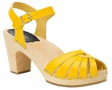 Swedish Hasbeens 468-720 Womens Fredrica Platform Sandal- Choose SZ/Color.
