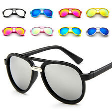 Plastic Anti-UV Full Frame Sunglasses Kids Eyeglasses Yurt Glasses Children