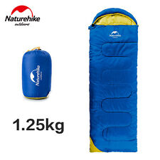 Camping Sleeping Bag Envelope Outdoor Camp Hiking With Carrying Case Ultralight