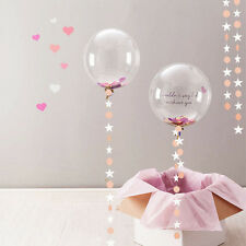 Pop Star Hanging Paper Garland Balloon Ornament Ceiling Home Wedding Party Decor