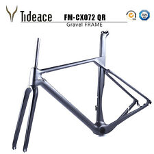T800 Carbon Fiber Gravel Frame Cyclocross Road Bike Frames CARBON FRAMESET OEM