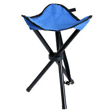 Outdoor Chair Folding Camping Tripod Stool Fishing Portable Hiking Seat Beach
