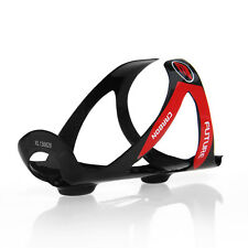Glossy Carbon Road Mountain Bike Water Bottle Cage Black Red Holder MTB Bicycle