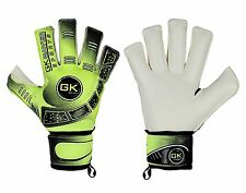 Football Goalkeeper Gloves Cool 04 Floro Yellow Roll Fingersave Goalie Gloves