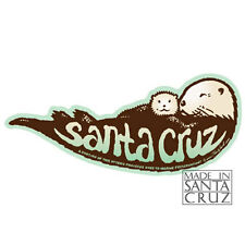 Santa Cruz or California Sea Otter Sticker - Bumpersticker Vinyl Decal Tim Ward