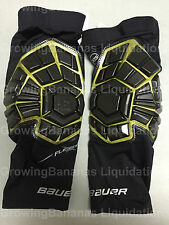 Bauer Elite Hockey Goalie Knee Guards! New, Senior SR All Sizes, Thigh Pad Ice