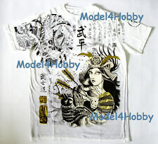 EMPEROR ETERNITY T-Shirt White M L XL WOMAN ARMOR ARROW BUSHIDO GOLD FOIL TATTOO