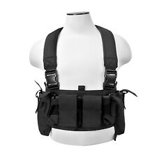 VISM CVUCR2943 Ultimate Tactical Chest Rig Vest 4 Mag/4 Utility/ 2 Radio Pouches