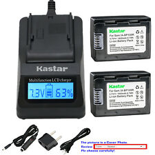 Kastar Charger Battery for Samsung IA-BP105R HMX-F80 HMX-F90 HMX-F800 HMX-F900