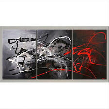 3PC Oil Painting Abstract Modern Art Canvas Wall Parlor Bedroom With Framed 24""