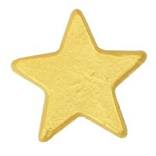 Star cake decorations gold or silver edible cake toppers