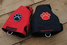 Mynwood Cat Walking Jacket Harness Vest Holster THE PAW PROJECT-MADE TO MEASURE