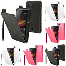 Cases for Sony Xperia L S36h/C2105/C2104 Stylus Phone Flip Case