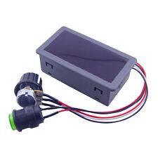 DC6-30V 12V 24V MAX Motor PWM Speed Controller With Didital Display Switch 16kHz