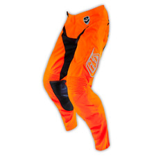 TROY LEE DESIGNS TLD GP AIR PANT STARBURST ORANGE BLACK YOUTH KIDS MX MOTOCROSS