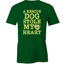 A rescue dog Stole My Heart T-Shirt Animal