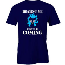 Heating Me Winter Is Coming T-Shirt cats Animal Funny